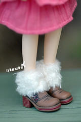 Fluffy boots