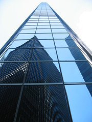 NYC Mirror (frkbirgitte) Tags: city nyc blue usa newyork architecture buildings skyscrapers manhattan 1001nights simplystunningshots