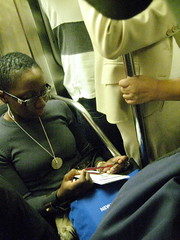 Worry Beads on New York Subway