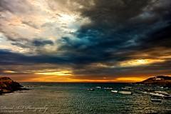 Port de la selva (david A.F Photography) Tags: sunrise girona amanecer nubes catalunya costabrava portdelaselva sigma1020mm canoneos40d davidafphotography
