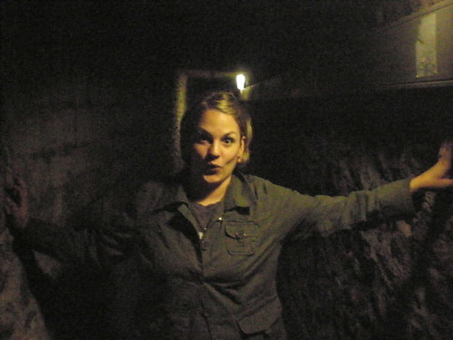 Finn in the Catacombs