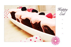 EID (alorwa) Tags: pink berry eid cream cupcake card chocolat