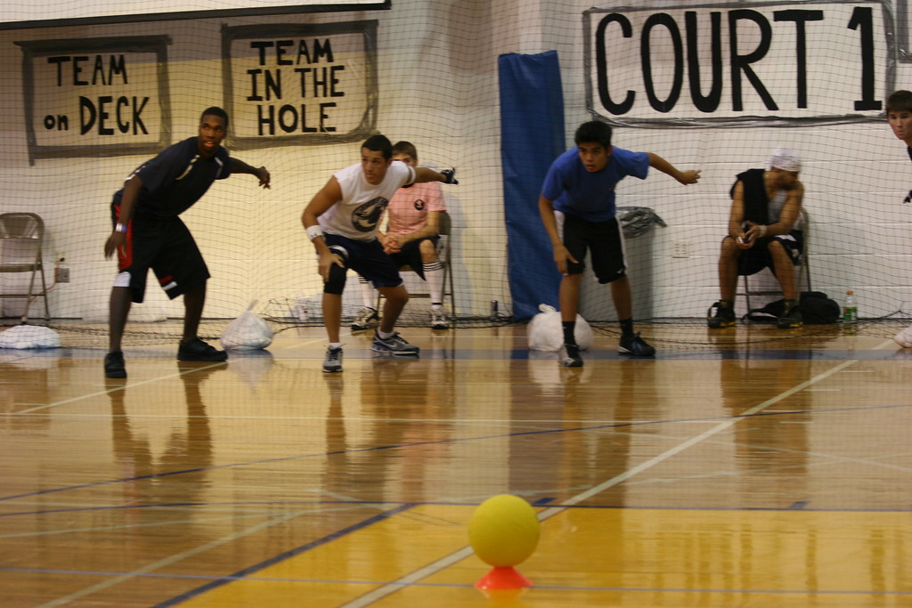Dodgeball enthusiast help local charity