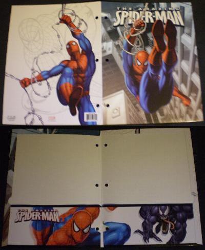 Spider-Man folder #1