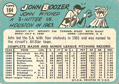 John Boozer (back) by you.