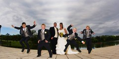 kim-disp_272-10x20 (mt_photo) Tags: wedding sky usa newyork color love mike boys fun groom bride jump buffalo brothers thomas joy images centralnewyork leap westernnewyork mikethomas michaelthomas mtphoto cmndrfoggy buffalowedding elberson