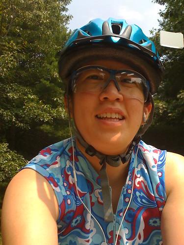 Biking with my iPhone