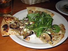 delicious pizza from 518 in raleigh