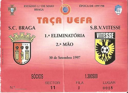 Sporting de Braga - Vitesse (UEFA)