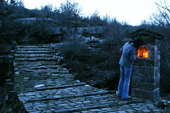 Kapetan Arkouda bridge (Lambros Galanis) Tags: bridge shrine greece  zagori    lambrosgalanis