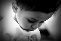 can't stop thinking about you (Weda3eah*) Tags: baby black cute by kid sad tshirt lips mohammed whit lovely burberry qatar mashalla 7amood m7md digitalcameraclub weda3eah kallpoooz