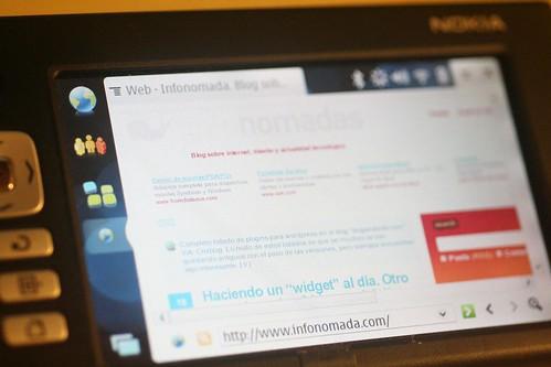 Infonomada desde el Nokia n700
