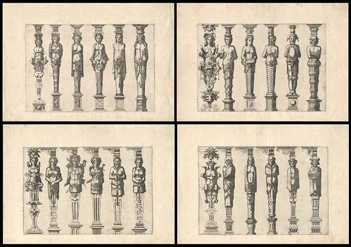 Caryatidum (Vulgas Termas vocat) 1565 quartet