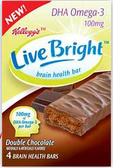 Brilliant Marketing – LiveBright Snack Bar Helps Keep Your Brain Fit