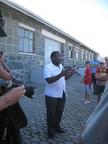 The ex-political prisoner who lead our tour