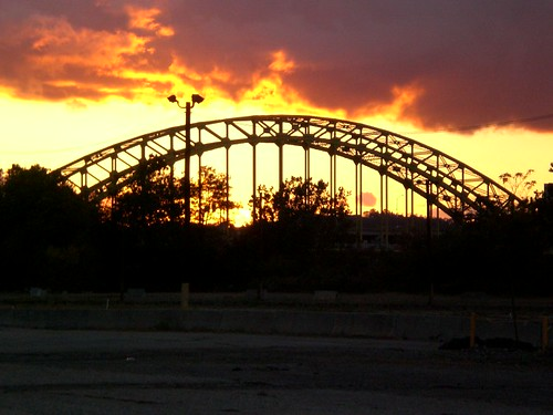 Pittsburgh Bridge @ Sunset 1
