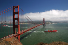San Francisco Golden Gate Bridge (Shandchem) Tags: bridge golden gate san francisco ship fineartphotos theunforgettablepictures ourmasterpieces