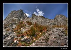 The Raptawicka peak (Mariusz Petelicki) Tags: hdr tatry canonefs1022mm 3xp tatramountains koscieliskavalley dolinakocieliska canon400d mariuszpetelicki vosplusbellesphotos raptawickaturnia raptawickapeak
