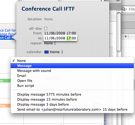 iCal Consistent Fail