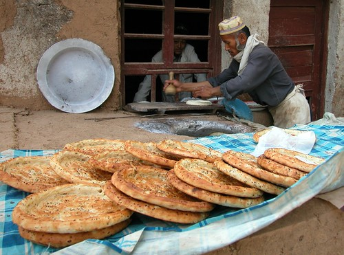 Uighur bread, Xinjiang, China