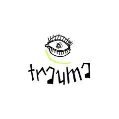 trauma (Soma Adicta) Tags: eye design eyelashes type draw trauma pestañas ojeras