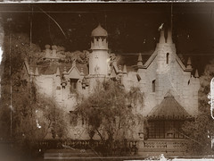 Disney - Happy Halloween! - Haunted Mansion Old Photo