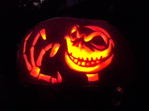 nothing says halloween like the nightmare before christmas so what better theme for this years pumpkins they were a big hit i had people taking pictures - Nightmare Before Christmas Jack O Lantern