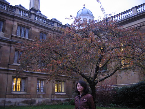 Clare College courtyard