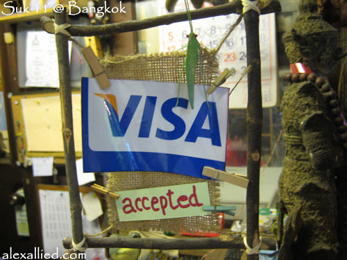 Visa accepted