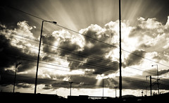 lines of light (Fotis ...) Tags: sky sun lines clouds cloudy escapeoflight