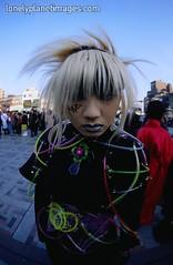 Harajuku Girlboy (John Ashburne) Tags: street japan japanese tokyo nikon cosplay images fisheye harajuku planet  nippon lonely lonelyplanet nihon ashburne jfajapan lonelyplanetimages johnashburne httpwwwlonelyplanetimagescomsearchframehtmlne5212ntkallntxmodematchpartialn4294907322 phototakeninjapan