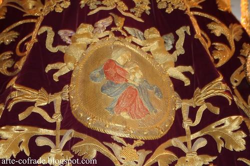 Manto de Nuestra Señora de la Victoria.