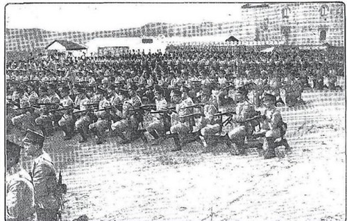 Alfonso XIII y Raymond Poincaré visitan Toledo en 1913