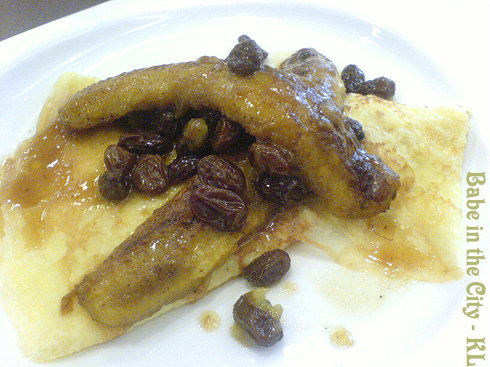 DB - Plain Rum and Raisin Banana Crepe RM8