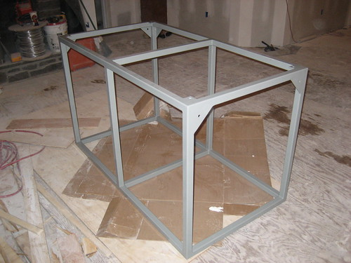 Pictures of the steel tank