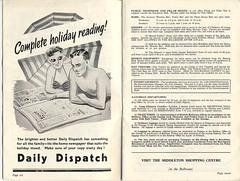 Middleton Tower Brochure 1955 -4 (trainsandstuff) Tags: 1955 vintage map archival brochure holidaycamp kamiya middletontower