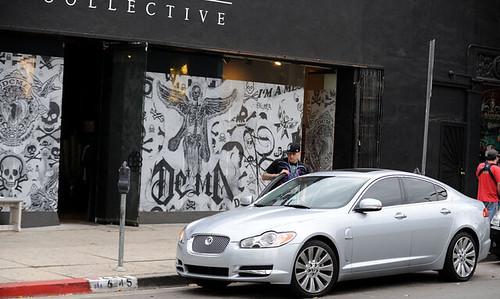 Benji Madden's new Jaguar XF