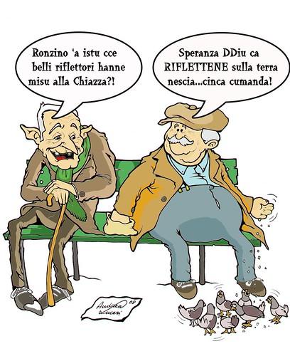 Vignetta per federica con vignette dialetto
