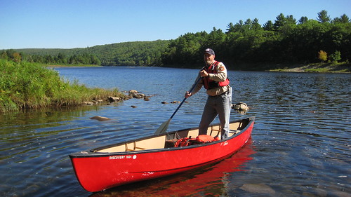 Steve Longley on the Kennebec