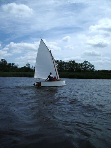 Goat Island Skiff in Norfolk, UK