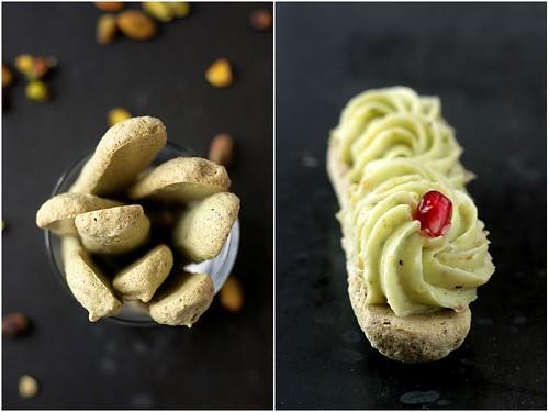 Pistachio Dacquoise & Pistachio Citrus Buttercream