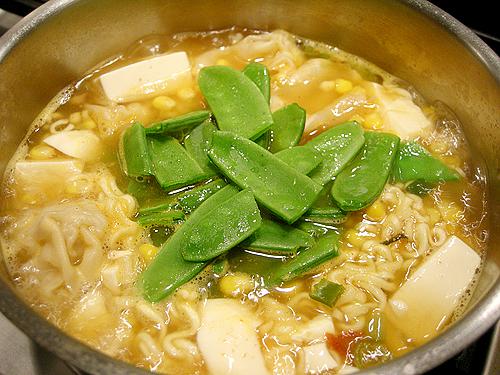 辛拉麵豆腐鍋-081210