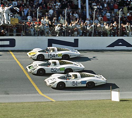 1968 Daytona 24 Porsche Win 1-2-3 (by Nigel Smuckatelli)