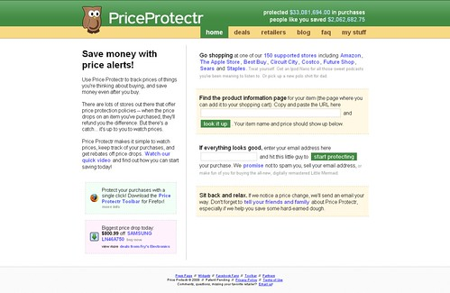 Price Protectr - Get Your Money Back!