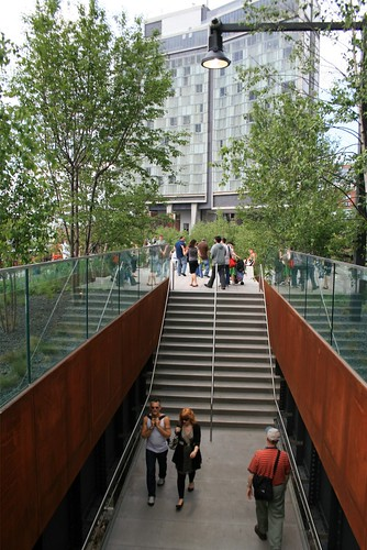 High Line staircase