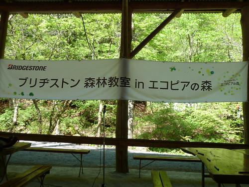 ブリヂストン 森林教室 in エコピアの森
