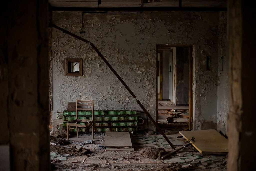 Chernobyl: Broken room