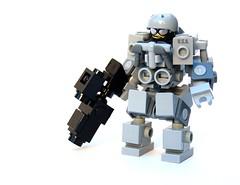 U.S. Marine Suit (Cam M.) Tags: usa cool marine lego awesome epic mecha mech hardsuit