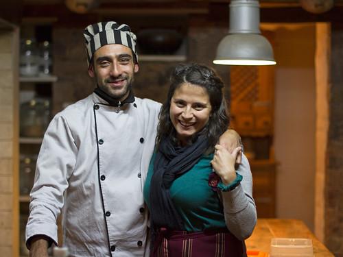 Martin and Luciana @ Rincon de Fuego