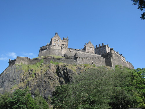 Edinburgh Castle - flckr - Bernt Rostad